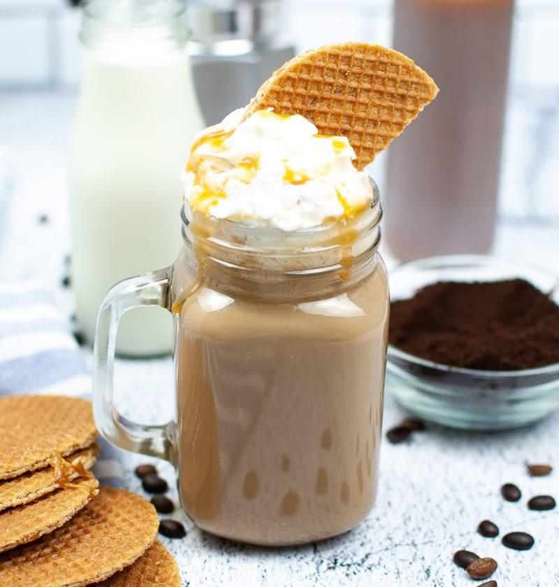 caramel brulee latte.