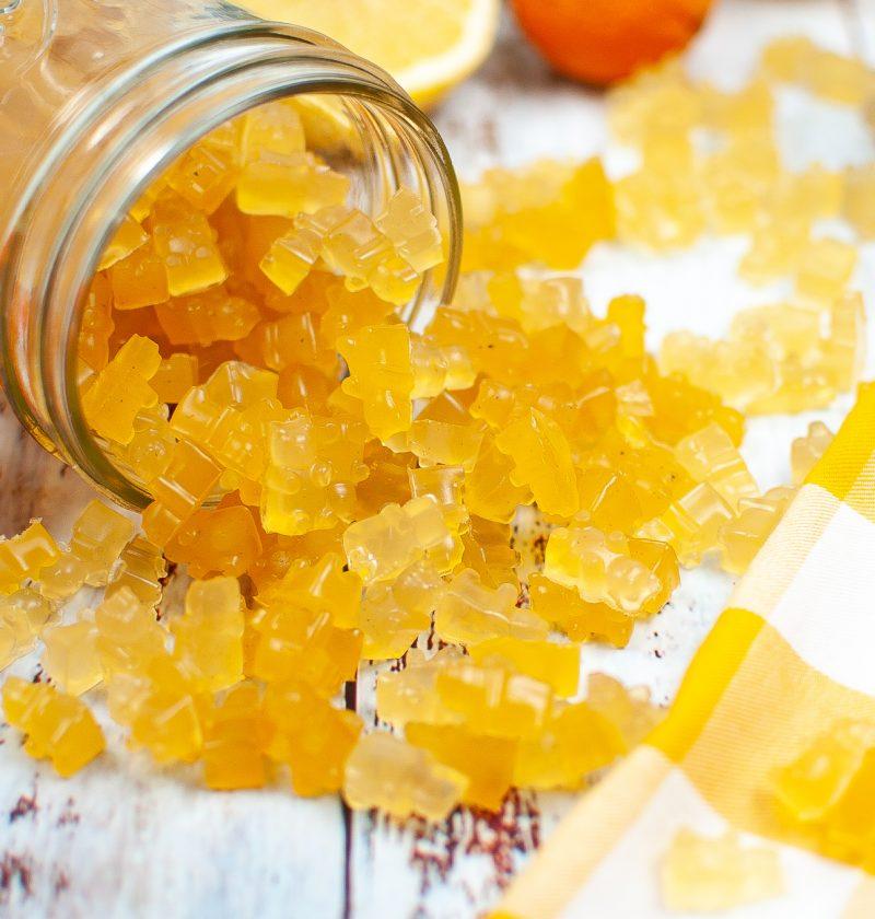 citrus gummy bears